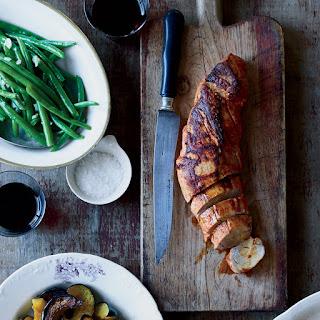 Skillet Pork Tenderloin with Mustard and Smoked Paprika Recipe