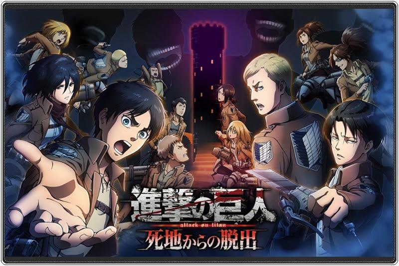 """[Shingeki no Kyojin] เกมใหม่จาก """"ผ่าพิภพไททัน"""" บน 3DS"""