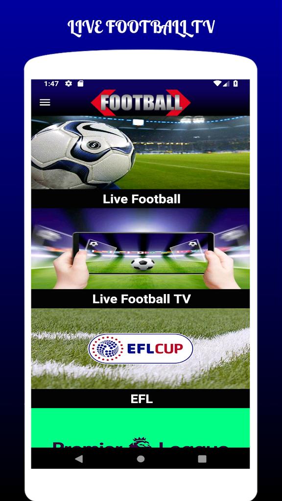 Live Football Tv Streaming Hd Untuk Android Apk Unduh