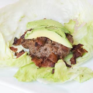 Bacon Burger Lettuce Wraps.