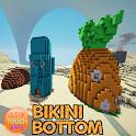 Map Bikini Bottom City icon