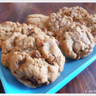 Peanut Butter Bacon Cookies