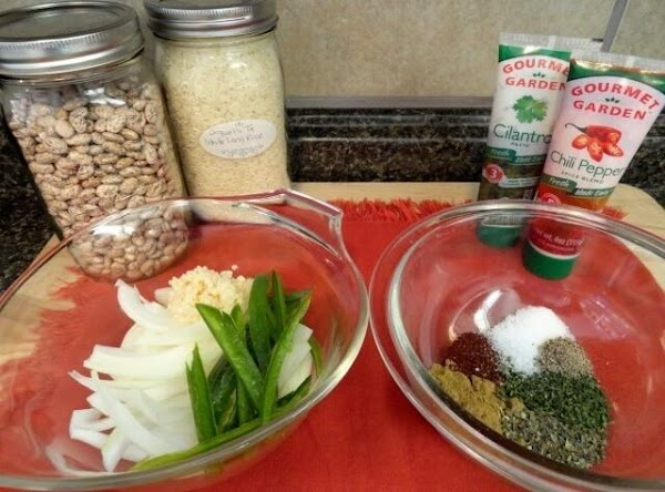 Pinto seasoning- after an hour add seasoning ( some stores don't carry pinto seasoning...