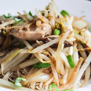 Chicken Chow Mein with Vermicelli.