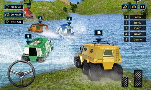 Offroad 8 Wheeler Russian Truck Racing Outlaws 3D 1.2 Mod screenshots 5