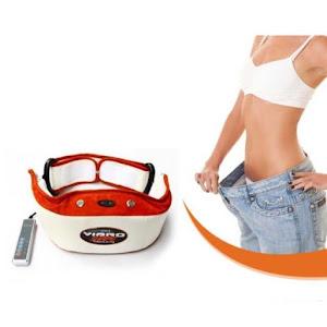 Centura de slabit cu masaj Vibro Shape Slimming Belt, 48W, efect de sauna