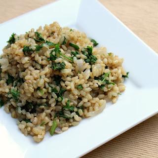Aromatic Jasmine Herb Brown Rice.