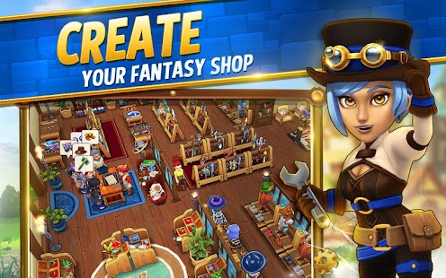 Shop Titans: Design & Trade Screenshot