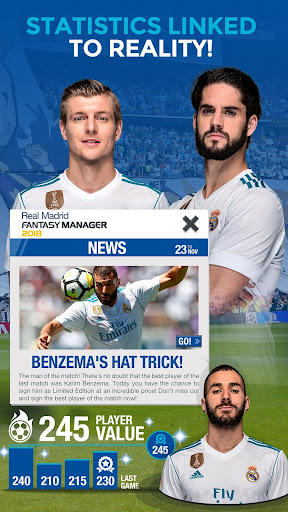 Real Madrid Fantasy Manager'18- Real football live 7.30.004 screenshots 4