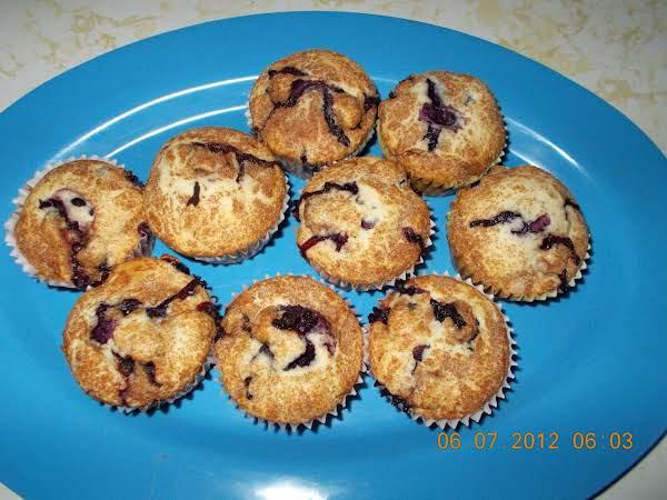 Grandma's Best Blueberry Muffins Recipe
