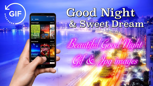 Gif Good Night & Sweet Dream Wishes Love 2.6.1 screenshots 1