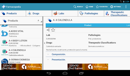 Farmacopedia Argentina- screenshot thumbnail
