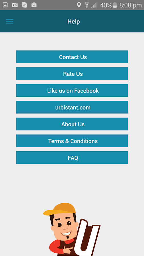 Urbistant - Home Services- screenshot