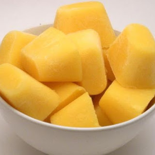 Pineapple Mango Smoothie Cubes