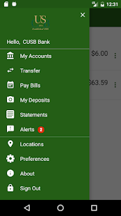 CUSB Mobile Banking - náhled