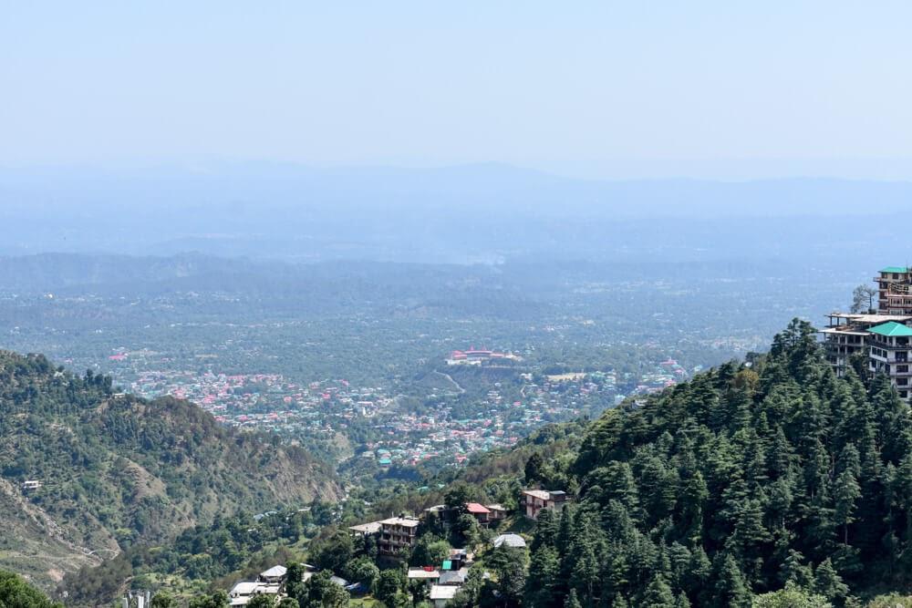 hiking+from+bhagsu+dharamshala+to+mcleodganj+around+dharamshala+himachal+india