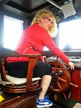 Photo: Vairuoti pririštą vairą nieko baisiai tokio, bet sedėt tam soste patiko!