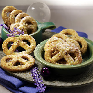Spiced Hazelnut Pretzel Cookies