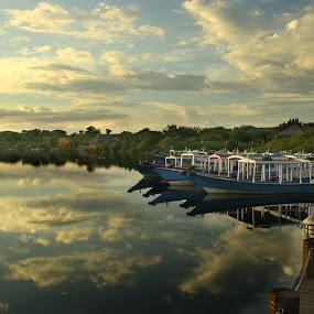by Steven Tessy - Transportation Boats