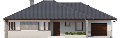 Lucjan G1 Leca® Dom - Elewacja przednia