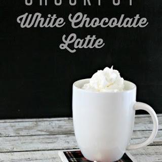 Crockpot White Chocolate Latte Recipe