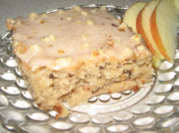 Cheesy Apple Walnut Cake Recipe