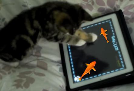 Fish Game for Cat screenshot 2