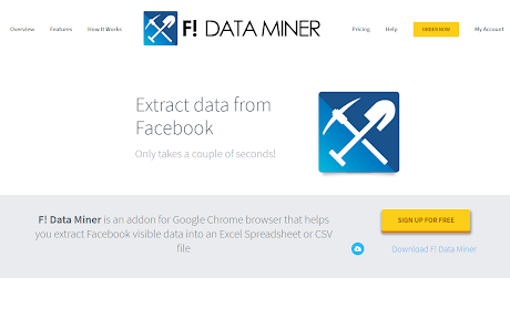 F! Data Miner Chrome插件下载crx 扩展介绍- 插件迷