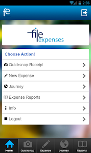 FileExpenses- screenshot thumbnail