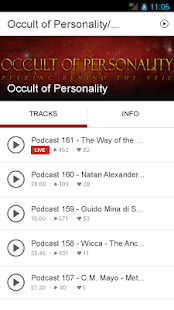 Occult of Personality/Spreaker- screenshot thumbnail