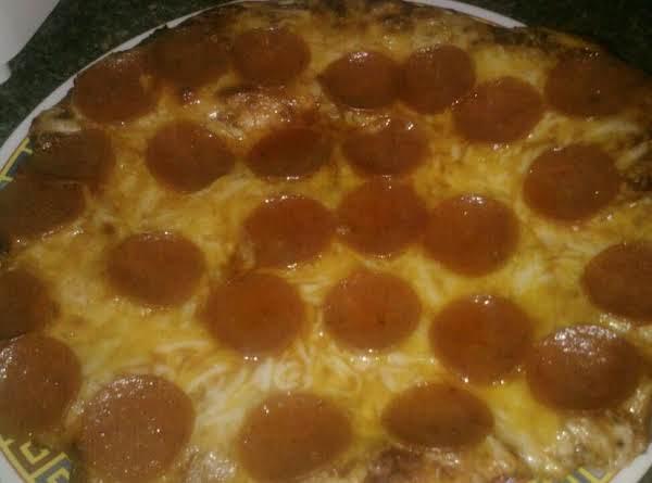 Home-pepperoni Pizza Recipe