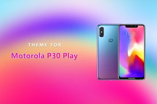 Theme for Motorola P30 Play ss1