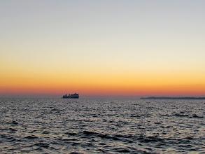 Photo: Noch vor dem Sonnenaufgang war ich schon an der Küste.