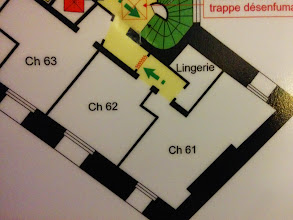 Photo: The hotel has a special room for lingerie. Never did get round to checking it out.