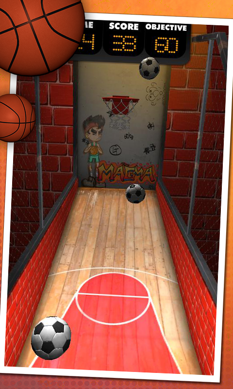 Basketball Shooter- screenshot