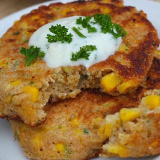 Amaranth Corn Fritters