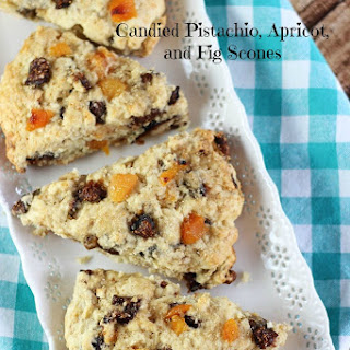 Pistachio, Apricot, and Fig Scones