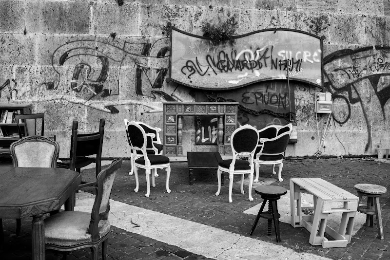 vintage street art di Aliscia