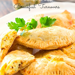Sausage and Egg Breakfast Turnovers.