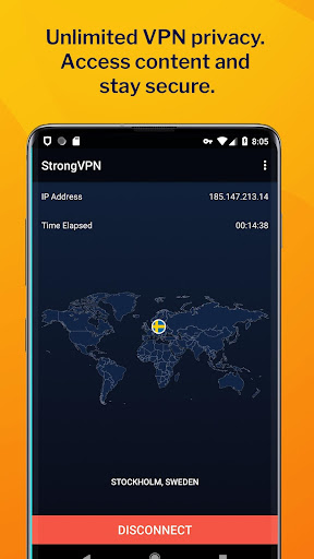 StrongVPN - Unlimited Privacy 2.2.0.4.67338 screenshots n 1