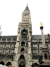 Photo: Day 50 - The Town Hall (Rathaus) in Munich (Home to the Famous Glockenspiel!)