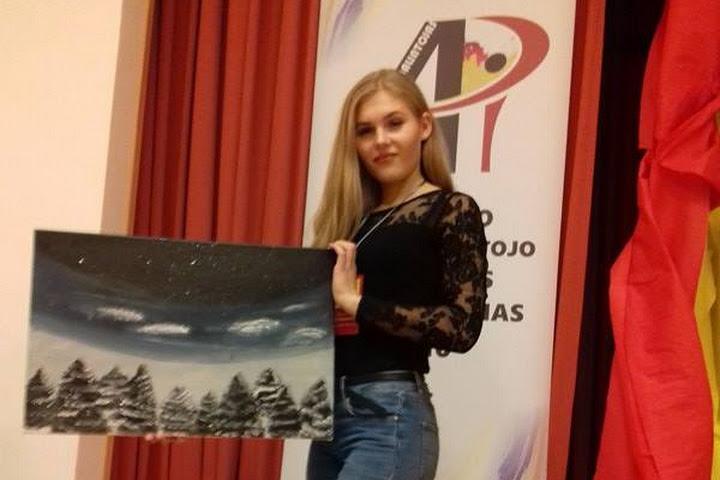 """Nacionaliniame konkurse """"Interjero apipavidalintojo profesinis meistriškumas 2016"""" laimėta  I-oji vieta!"""