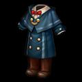 青いたんていコート