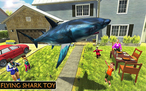 Flying Shark Simulator : RC Shark Games 1.1 screenshots 7