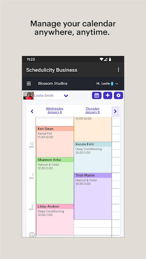 Schedulicity Business: Appointment Scheduling screenshots 1