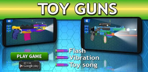 Fantastic virtual toy weapons for your kids with Toy Guns - Gun Simulator.