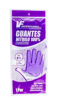 **GUANTE DE NITRILO