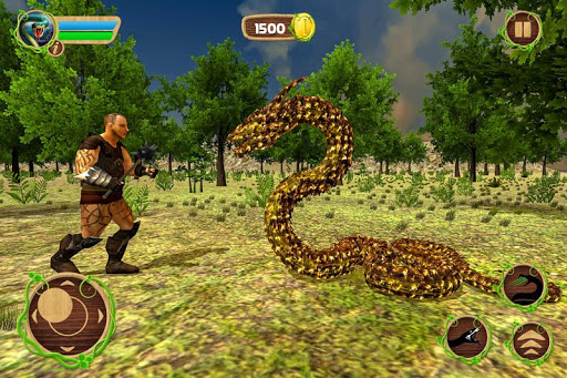 Code Triche Simulateur de serpent furieux APK MOD screenshots 5