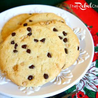 Toffee Chocolate Chip Sugar Cookie