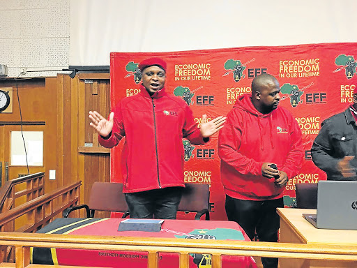EFF withdraws from calls for Mongameli Bobani's removal